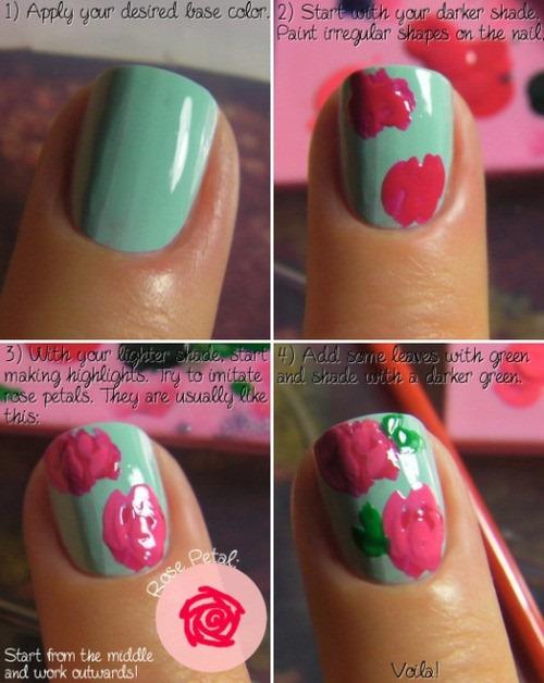 Diy nail designs pccala flower nails diy prinsesfo Gallery